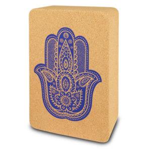 Sapura Yogablock aus Naturkork